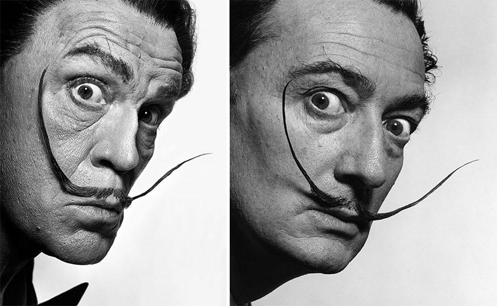Sandro Miller Philippe Halsman Salvador Dali 1954