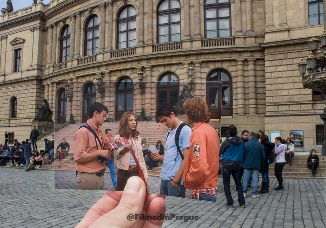 Photographer Combines Movie Scenes With The Actual Places In A ...