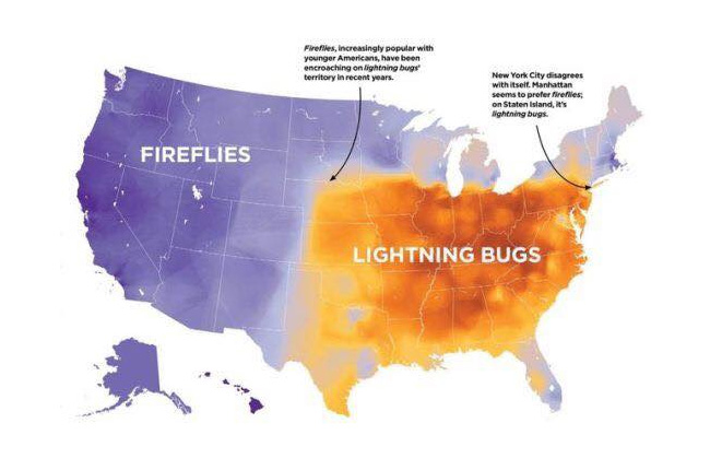 Speaking American Some Easy Reading On Cultural Language - Cultural-map-of-the-us