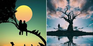 Turkish Artist Abdullah Evindar Creates Fantastic Surreal Silhouette Photo Collages