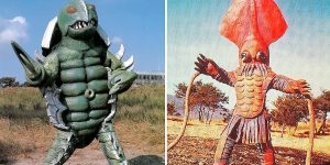Awkward Vintage Japanese Movie Monsters