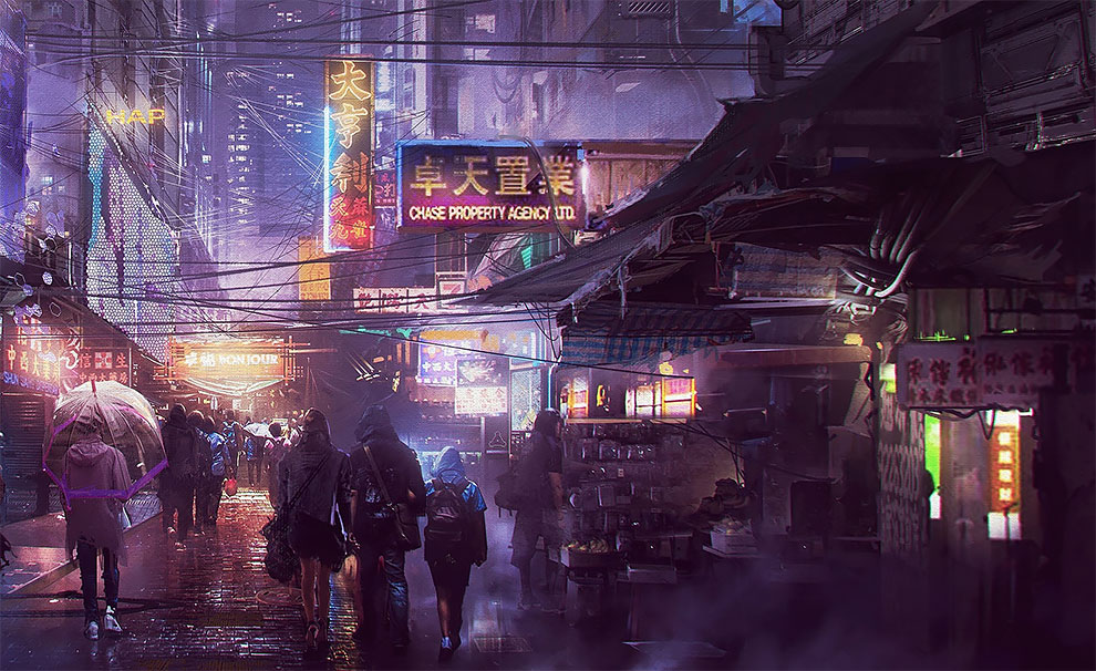 Empire Of Future The Superb Sci Fi And Game Concept Art By Donglu Yu