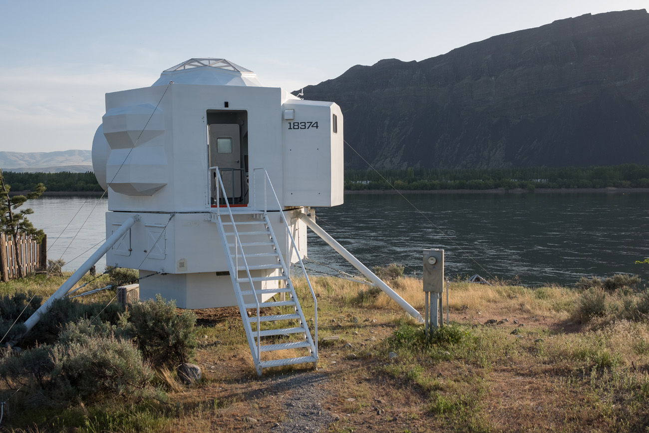 This Tiny House Design Inspired By The Lunar Module