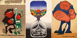 Soviet Anti-Alcohol Posters In The 1970s And 1980s