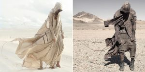 """A Wind From The Future World"": Amazing Post-Apocalyptic And Futuristic Outfits By Demobaza"