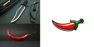 Indonesian Designer Combines Unlikely Pairs Of Things To Create Clever Logos
