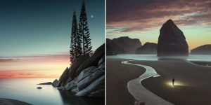 """""""A Journey Guided By The Elements:"""" Surrealistic Reality In Photographs By Benjamin Everett"""