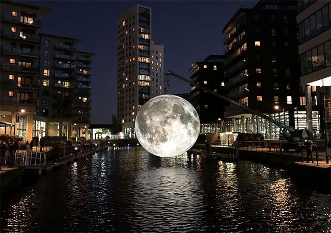 Artist Luke Jerram S Seven Meter Diameter Moon Continues