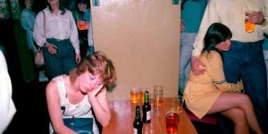 A World Of 80s Style: Photographs Documented British Teenage Courtship At North England's First Disco Pub