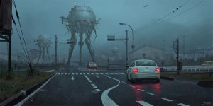 Stefan Koidl Continues To Create Spooky Illustrations, And You Shouldn't Click If You're Easily Frightened