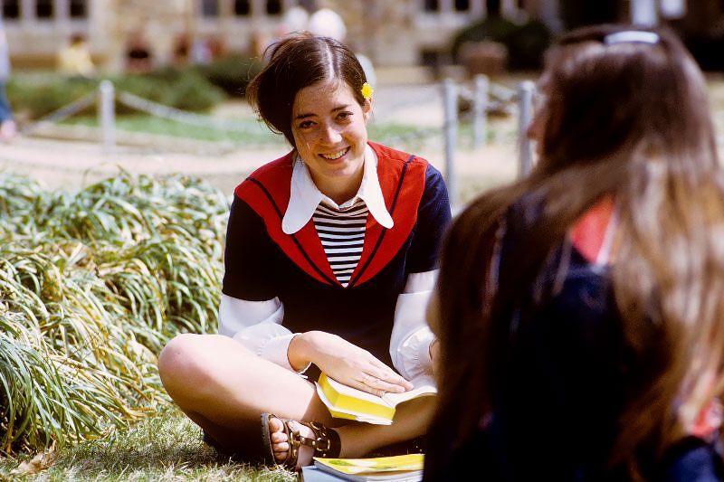 Fabulous Portrait Photos Of Rhodes College's Students Taken By A Former In The Early 1970s