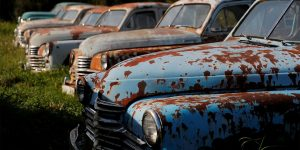 """Rust In Peace"": Bizarre Soviet-Era Cars Fill Russian Mechanic's Field"