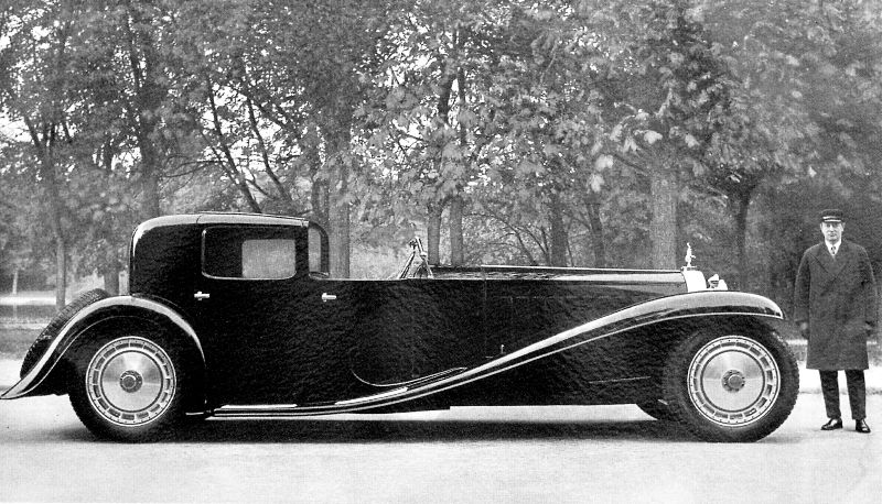 Supercool Pics Of Bugatti Cars In The 1920s And 1930s