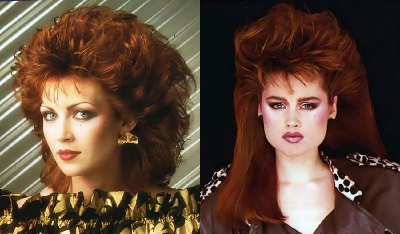 Cool Pics That Defined Big Hairstyles Of Women In The 1980s