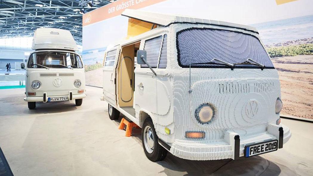 two guys built this 400 000 brick lego volkswagen van in. Black Bedroom Furniture Sets. Home Design Ideas
