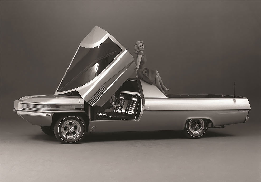 This Futuristic 1966 Ford Ranger Ii Concept Truck