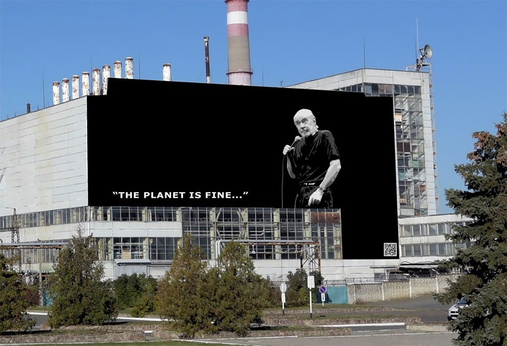 Facebook Users Are Choosing The Graffiti For The Chernobyl
