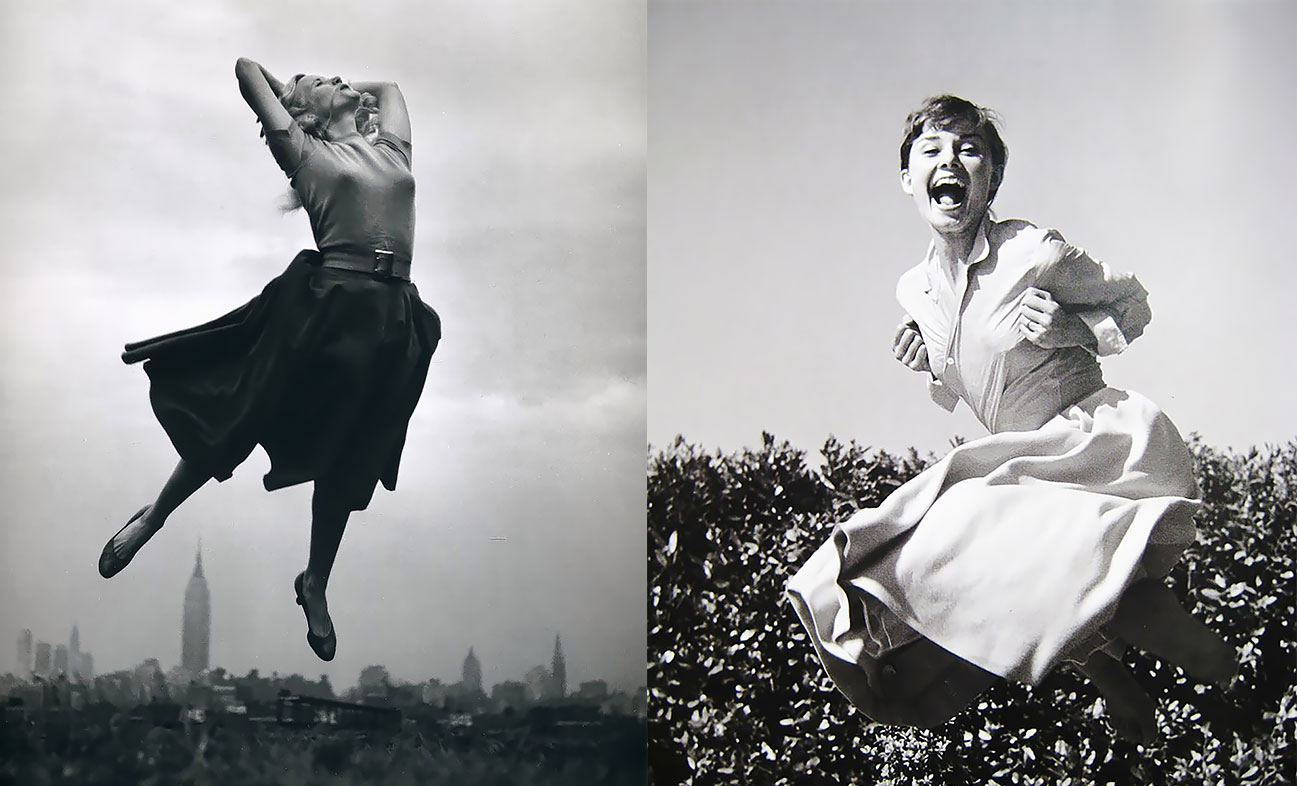 """When He Said """"Jump..."""": The Most Influential Images Of All Time Captured By The Photographer Philippe Halsman"""