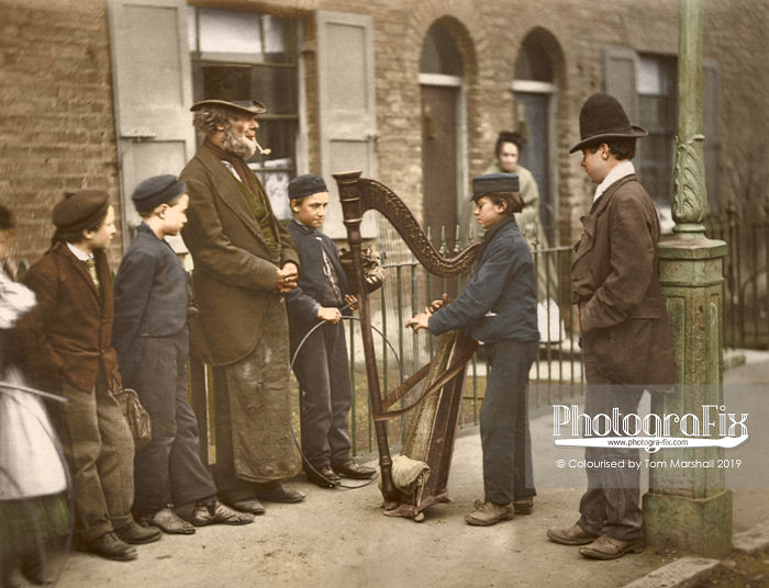 11 Stunning Colorized Photos Showing The Street Life Of Victorian London From Over 140 Years Ago