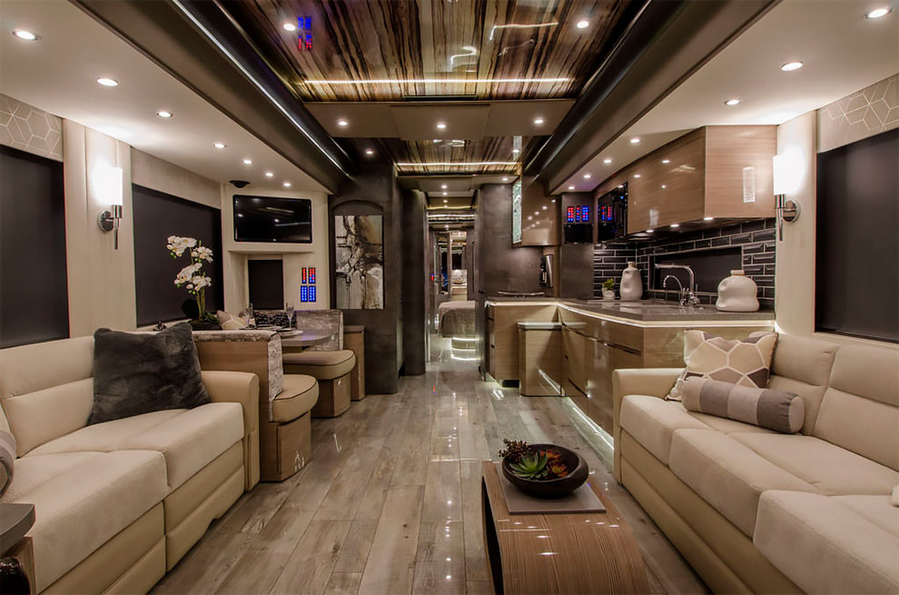 A $2 Million Porsche-Designed RV Has A Full Bedroom And ...