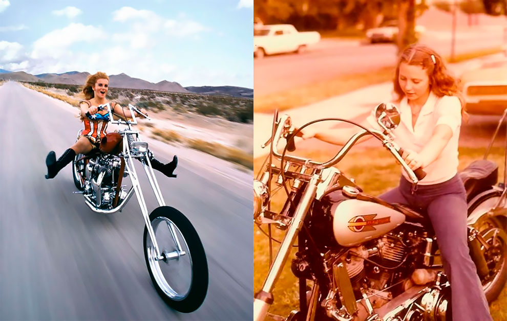 Amazing Vintage Photos Of Badass Women Riding Their Choppers