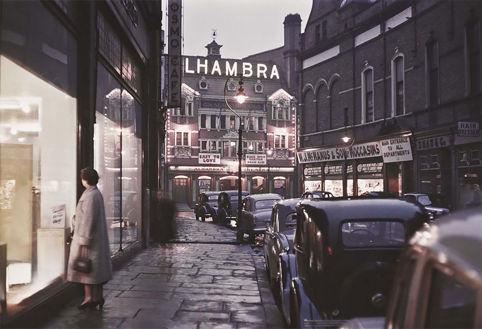 Belfast in Amazing Rare Color Photographs, 1955
