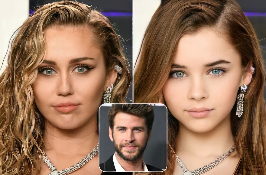 This Guy Used A.I. To See What The Kids Of Famous Ex-Couples Would Have Looked Like
