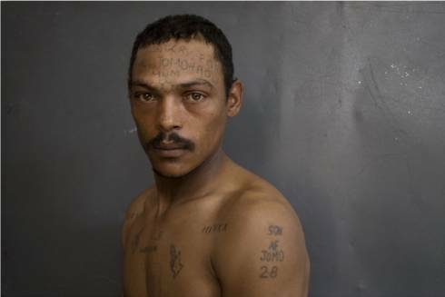 Araminta De Clermont documents the prison tattoos of the Numbers Gangs from