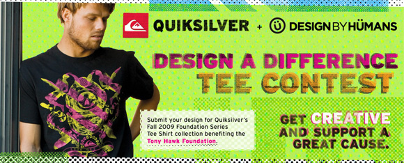 Entry1 Tony Hawk Foundation supports with Quicksilver