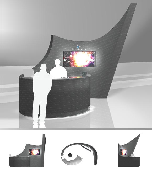 Luminator Stand   Luminator