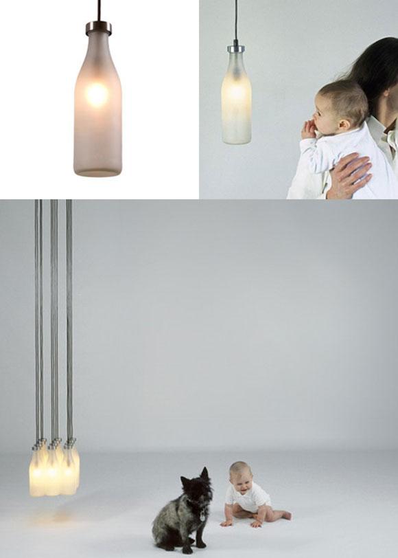 Milk Bottle Lamp DYT Milk Bottle Lamps