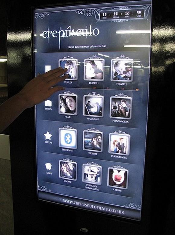 Twilight03 Twilight   Interactive Subway Installation