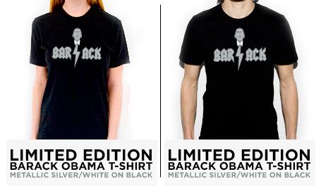 barack tee shirts BARACK THE T SHIRT