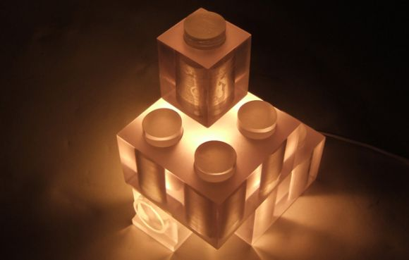 designzen lego Lego Lamp