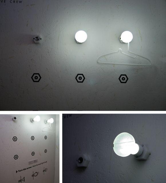 designzen light bolt Bolt Light Bulb