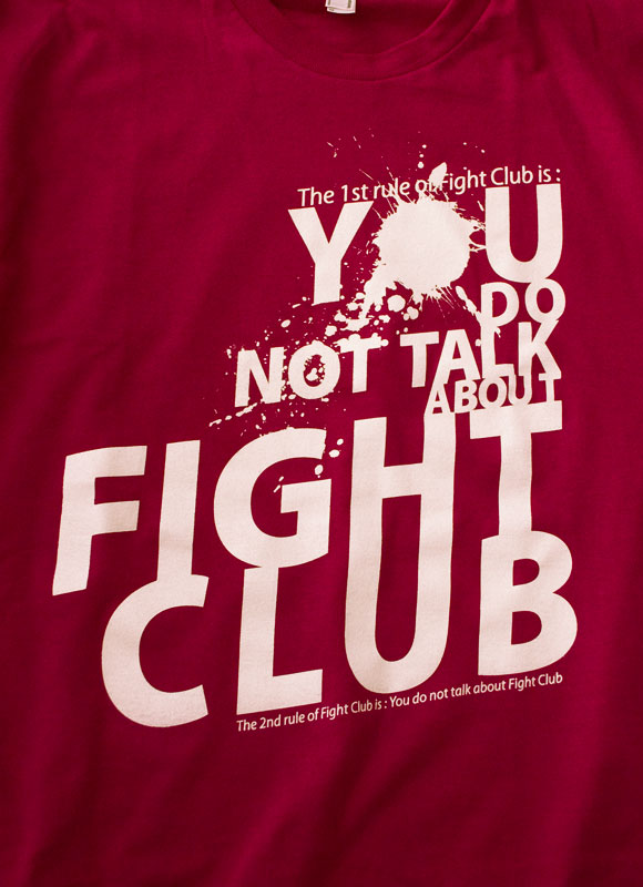 fightclub Fight Club Tee shirt