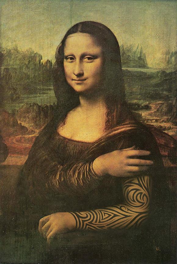 mona Mona Lisa Tattooed