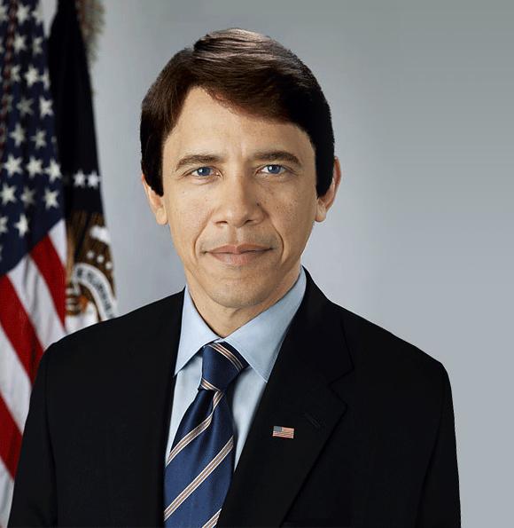 Obama cel alb
