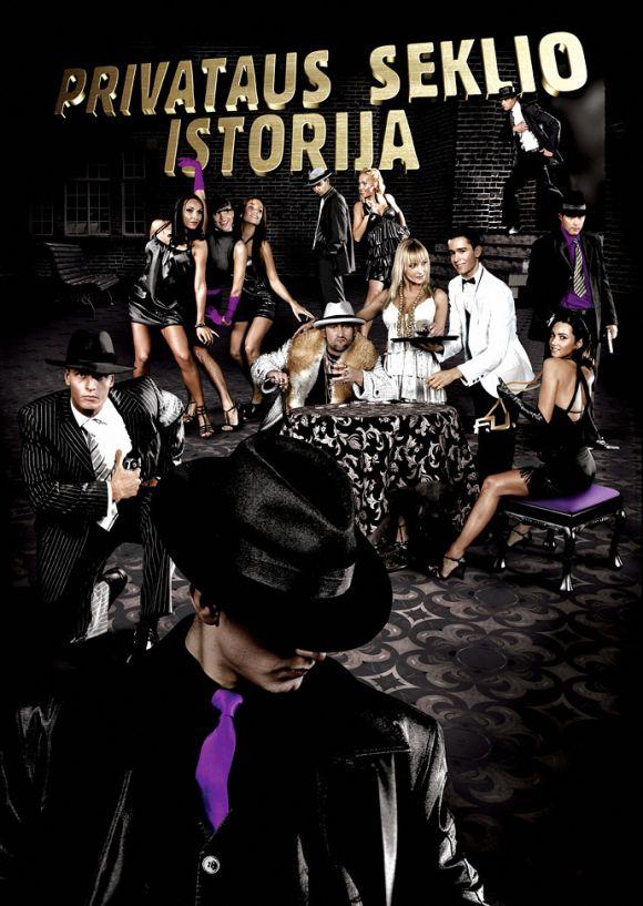 privataus seklio istorija Poster for musical theatre PRIVATAUS SEKLIO ISTORIJA