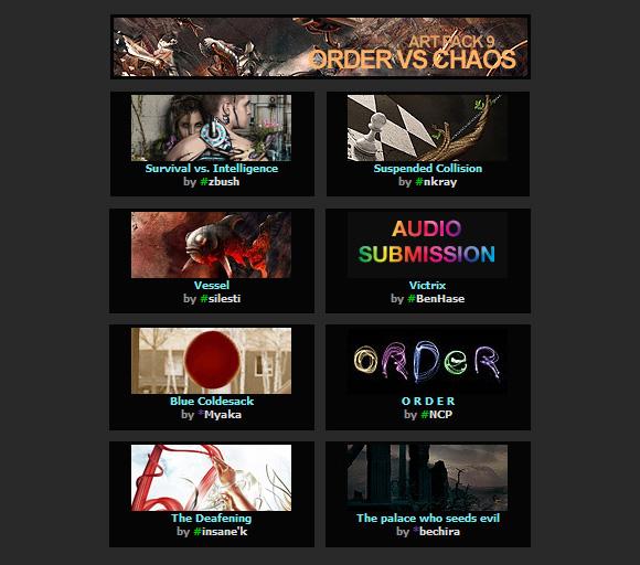 s3 01 01 slashTHREE Art Pack 9   Order vs Chaos released