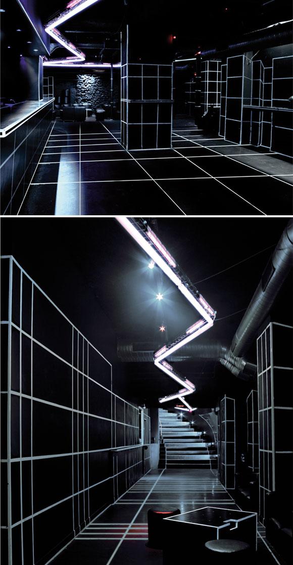social Grafic and Light installation