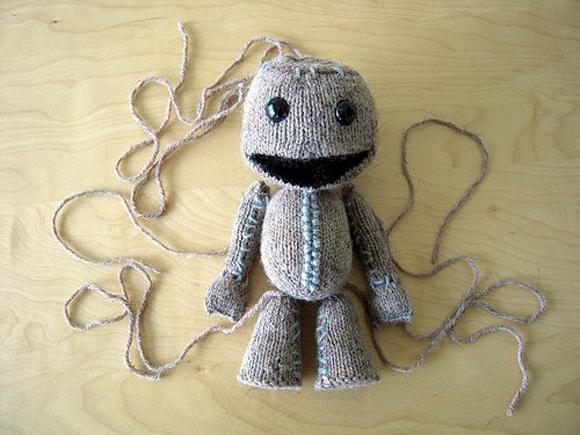 comment tricoter sackboy