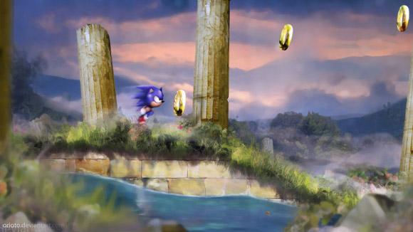 Aquatic Run by Orioto Video games fan art