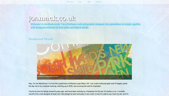 DYTJonMack JonMack.co.uk Re launch and update!