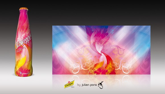 Schweppes JulienPons Schweppes Collector Packaging