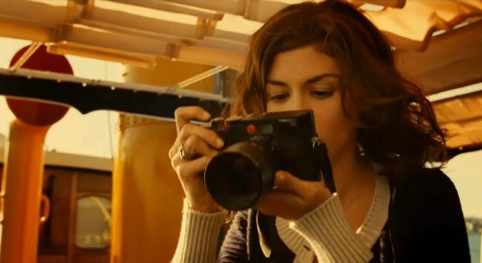 audreytautouchaneln5commercial Audrey Tautou, Chanel perfum and Leica M8