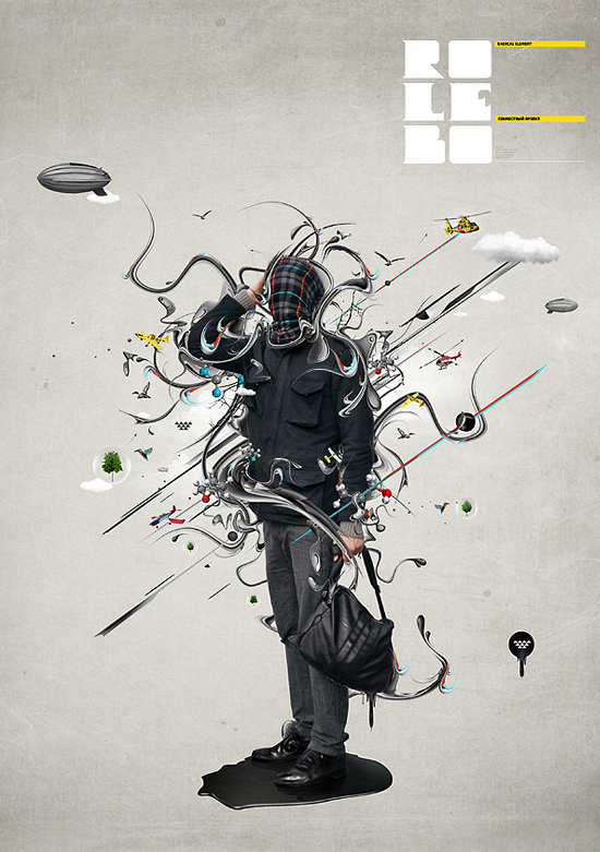 Digital art selected for the Daily Inspiration 165 - Abduzeedo Graphic Design Inspiration