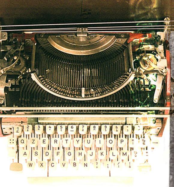 typwriter diego Typosonic Machine