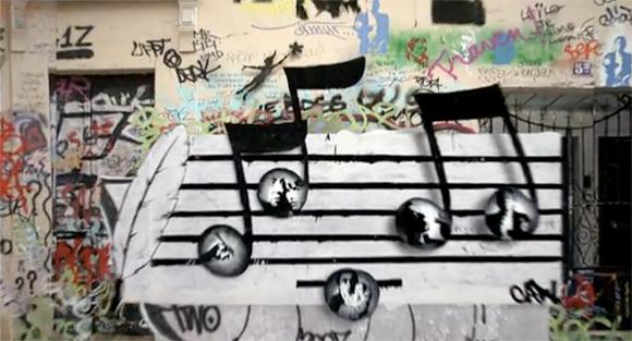 3dgraffiti Serge Gainsbourgs Home   3d Graffiti Animation