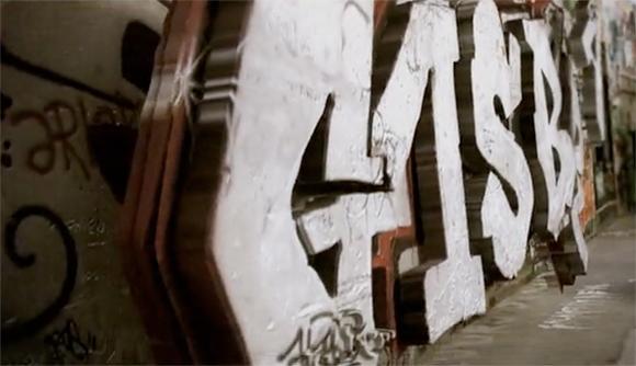 3dgraffiti1 Serge Gainsbourgs Home   3d Graffiti Animation